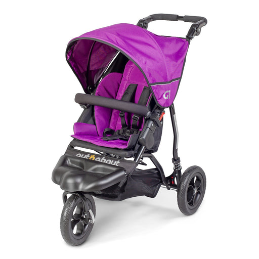 Out'n'About GT Single Pushchair - Purple Punch