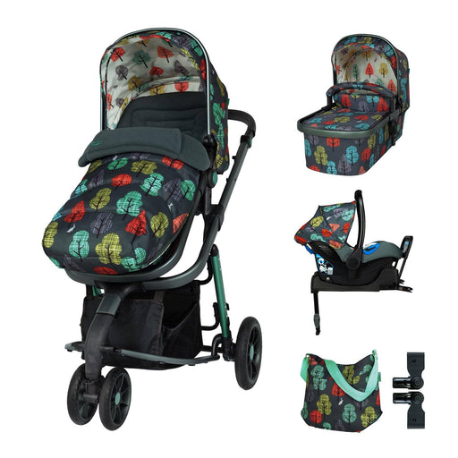 Cosatto Giggle 3 Whole 9 Yards Bundle - Hare Wood - Pushchair Expert