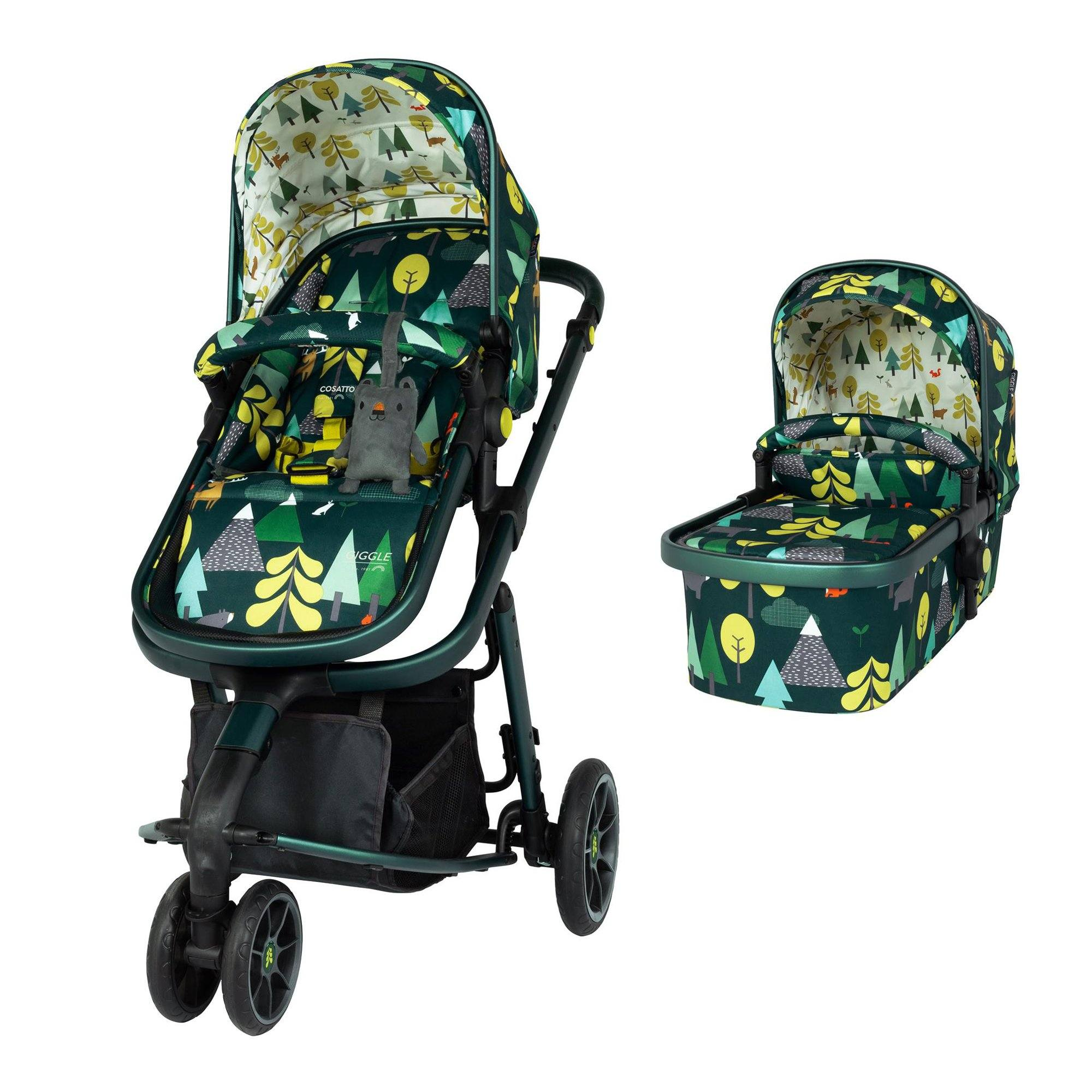 Cosatto Giggle 3 Marvellous Bundle with Hold Car Seat - Into the Wild