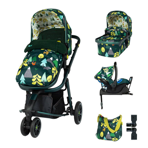 Cosatto Giggle 3 Whole 9 Yards Bundle - Into The Wild - Pushchair Expert