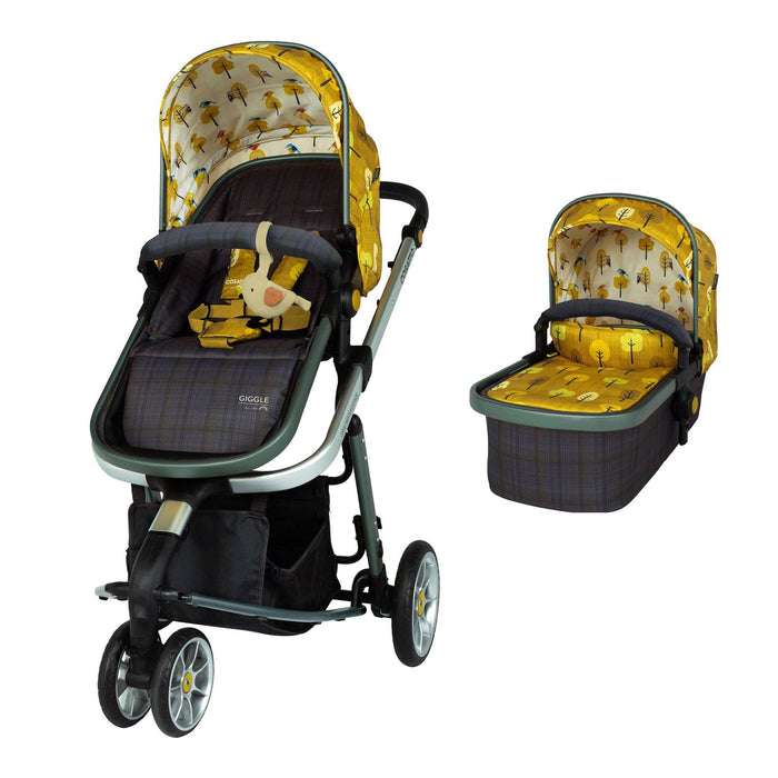 Cosatto Giggle 3 Travel System Bundle - Spot the Birdie - Pushchair Expert