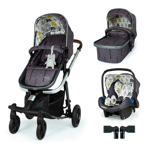 Cosatto Giggle Quad Travel System Bundle Fika Forest - Pushchair Expert