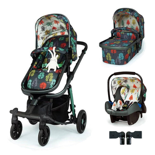 Cosatto Giggle Quad Travel System Bundle Hare Wood - Pushchair Expert