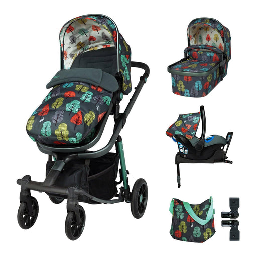 Cosatto Giggle Quad Whole 9 Yards Bundle - Hare Wood - Pushchair Expert