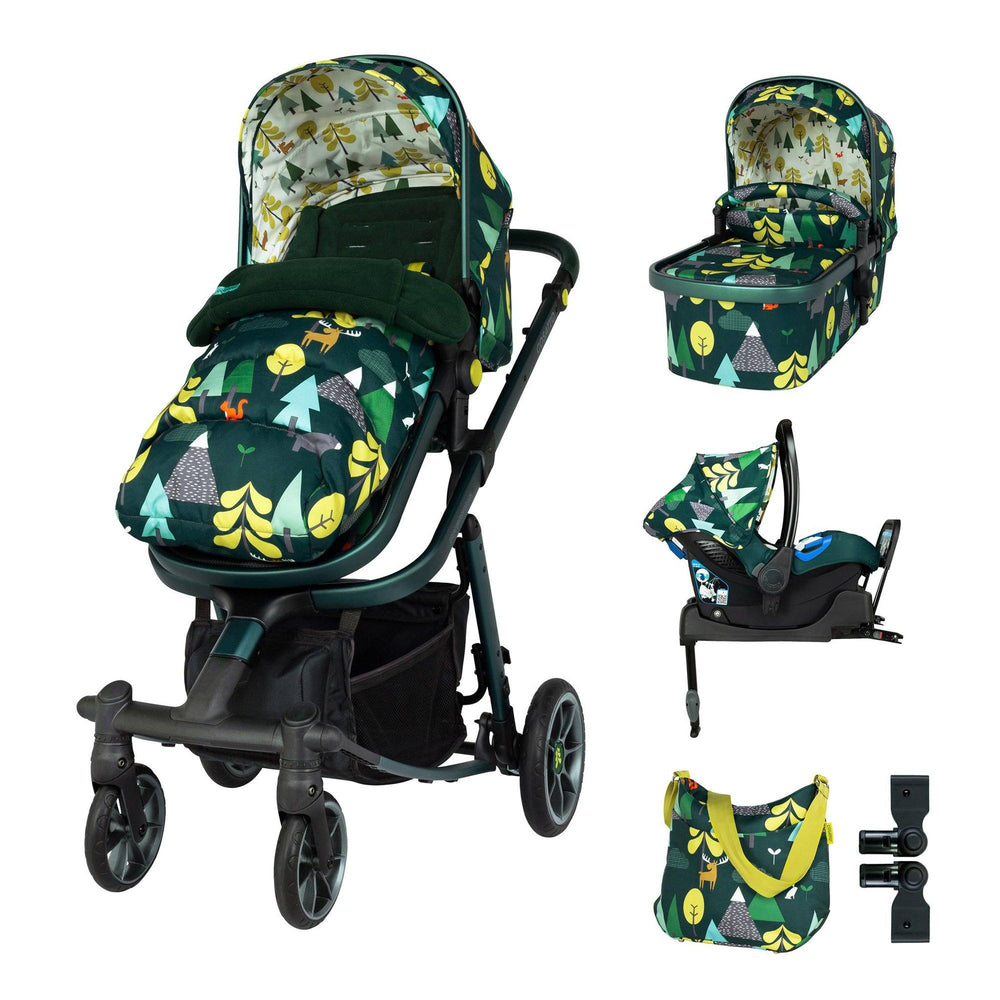 Cosatto Giggle Quad Whole 9 Yards Bundle - Into The Wild - Pushchair Expert