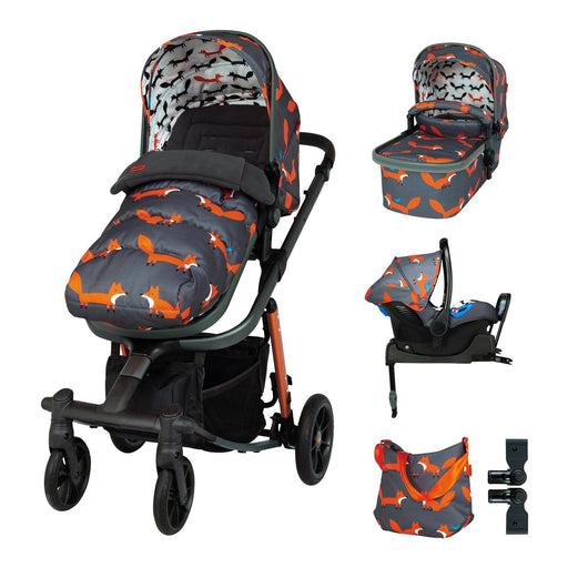 Cosatto Giggle Quad Whole 9 Yards Bundle Mister Fox