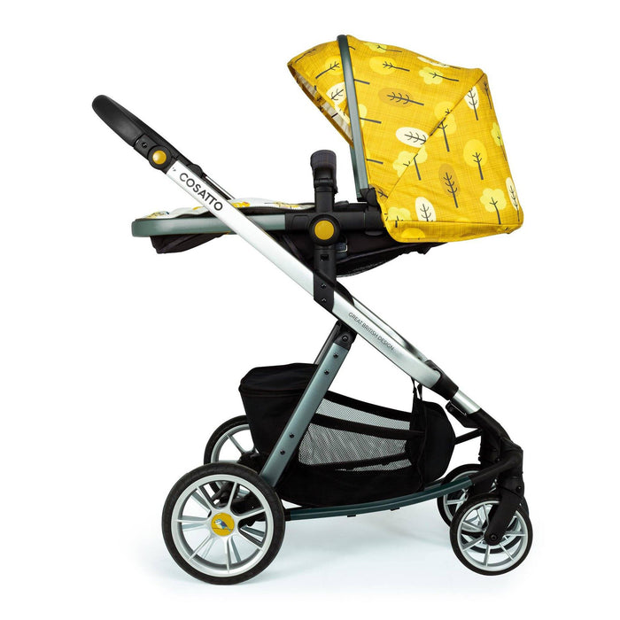 Cosatto Giggle Quad Travel System Bundle Spot the Birdie - Pushchair Expert