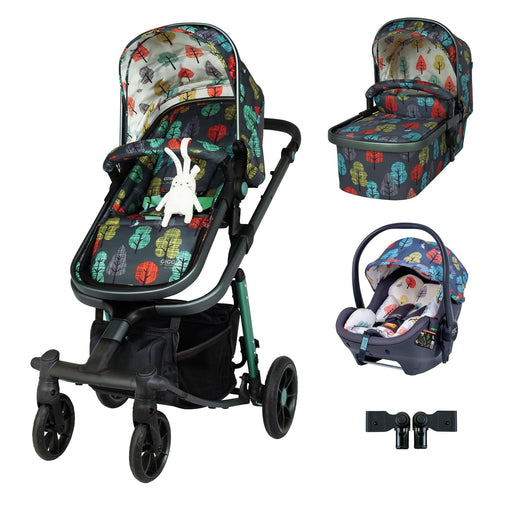 Cosatto Giggle Quad Premium Travel System Bundle - Hare Wood