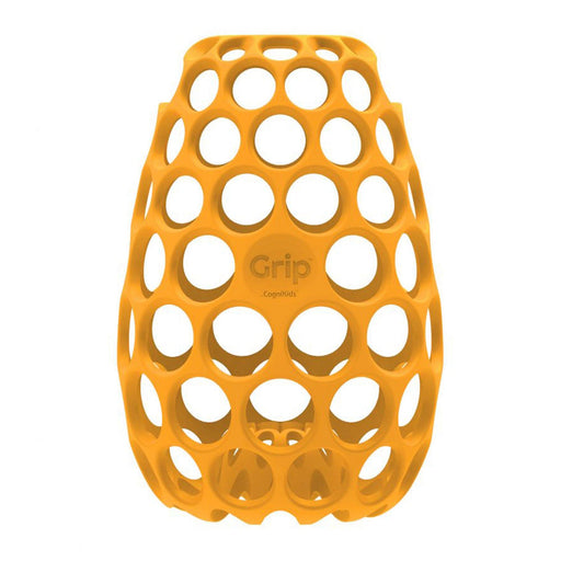 Cognikids Grip Baby Bottle Gripper - Tangerine