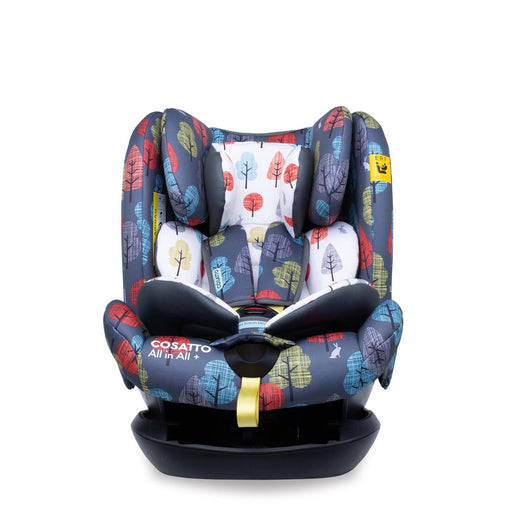Cosatto All in All + Group 0+1/2/3 car seat - Hare Wood - Pushchair Expert
