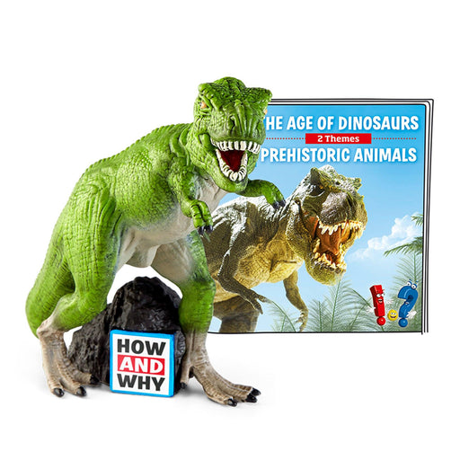 Tonies HOW AND WHY The Age of Dinosaurs / Prehistoric Animals - Pushchair Expert