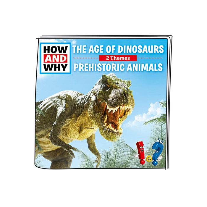 Tonies HOW AND WHY The Age of Dinosaurs / Prehistoric Animals