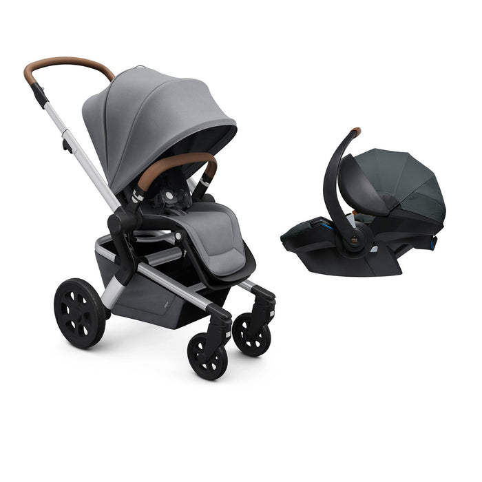 Joolz Hub Travel System Gorgeous Grey - Pushchair Expert