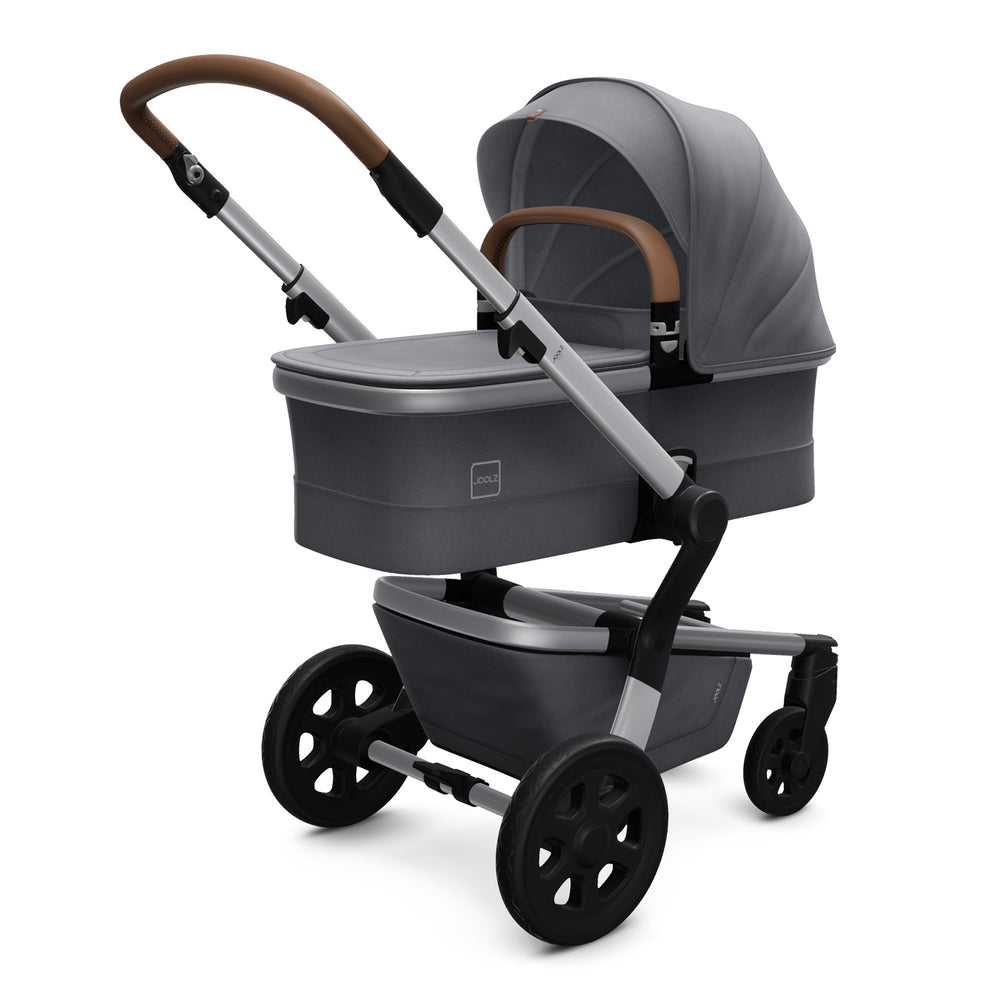 Joolz Hub with Carrycot Gorgeous Grey - Pushchair Expert