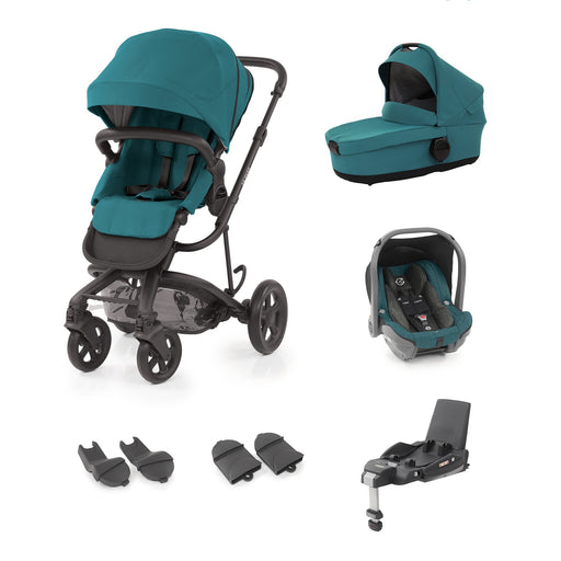 BabyStyle Hybrid2 Pushchair 6 piece travel system - Lagoon