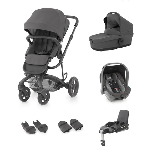 BabyStyle Hybrid2 Pushchair 6 piece travel system - Slate