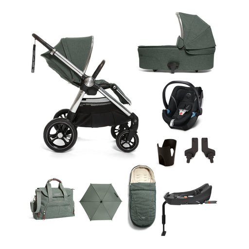 Mamas & Papas Ocarro Travel System - Complete Kit - Inky Teal - Pushchair Expert