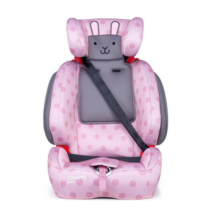 Cosatto Judo Group 1/2/3 car seat - Bunny Buddy - Pushchair Expert