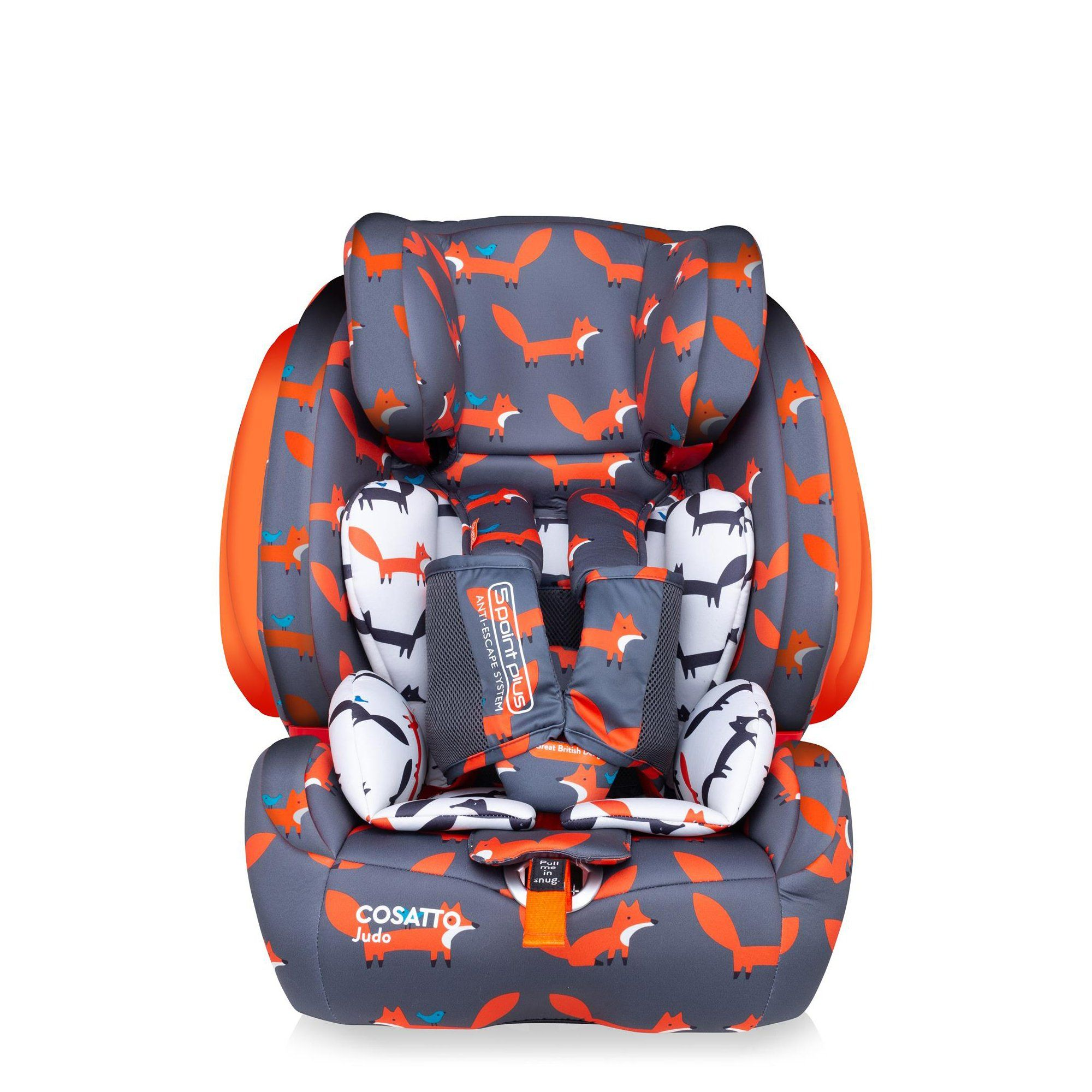 Cosatto Judo Group 1/2/3 car seat - Mister Fox - Pushchair Expert