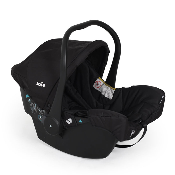 Joie Muze Travel System incl. Juva Group 0+ car seat - Coal - Pushchair Expert