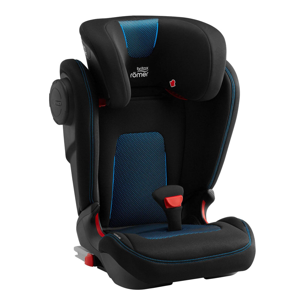 Britax Römer Kidfix III M Group 2/3 high-back booster car seat - Cool Flow Blue