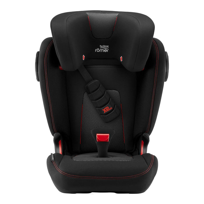 Britax Rӧmer Kidfix III S Group 2/3 high-back booster car seat - Cool Flow Black - Pushchair Expert