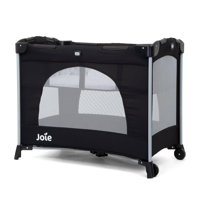 Joie Kubbie Travel Cot - Coal (Black) - Pushchair Expert