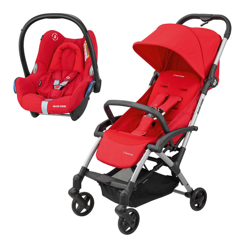 Maxi-Cosi Laika Travel System Nomad Red
