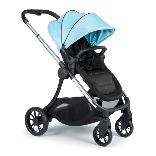 iCandy Lime Pushchair and Carrycot - Chrome/Glacier - Pushchair Expert