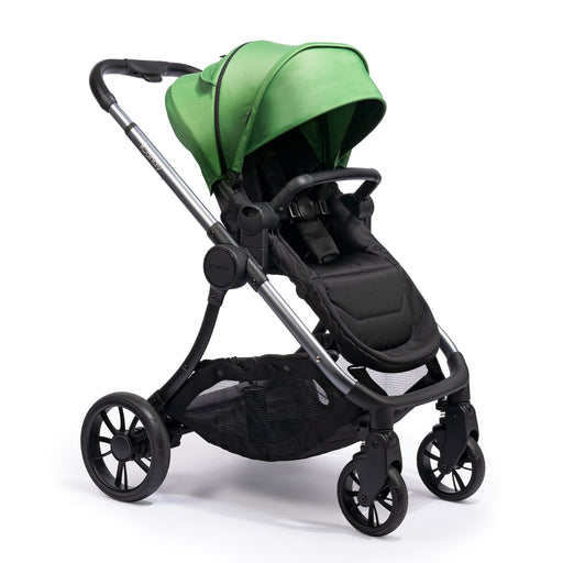 iCandy Lime Pushchair and Carrycot - Moonrock/Lime - Pushchair Expert