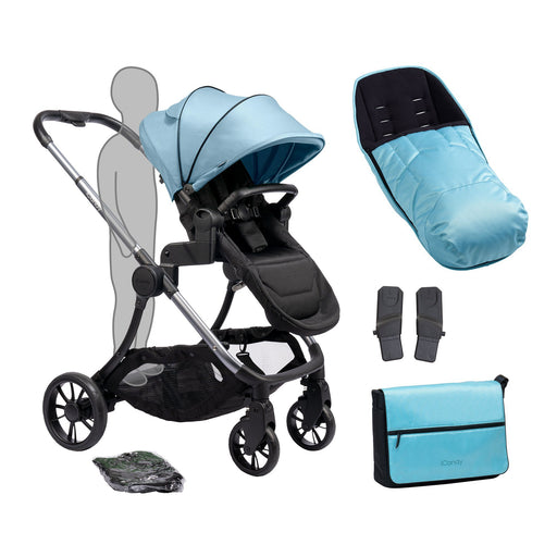 iCandy Lime Plus - Moonrock/Glacier - Pushchair Expert