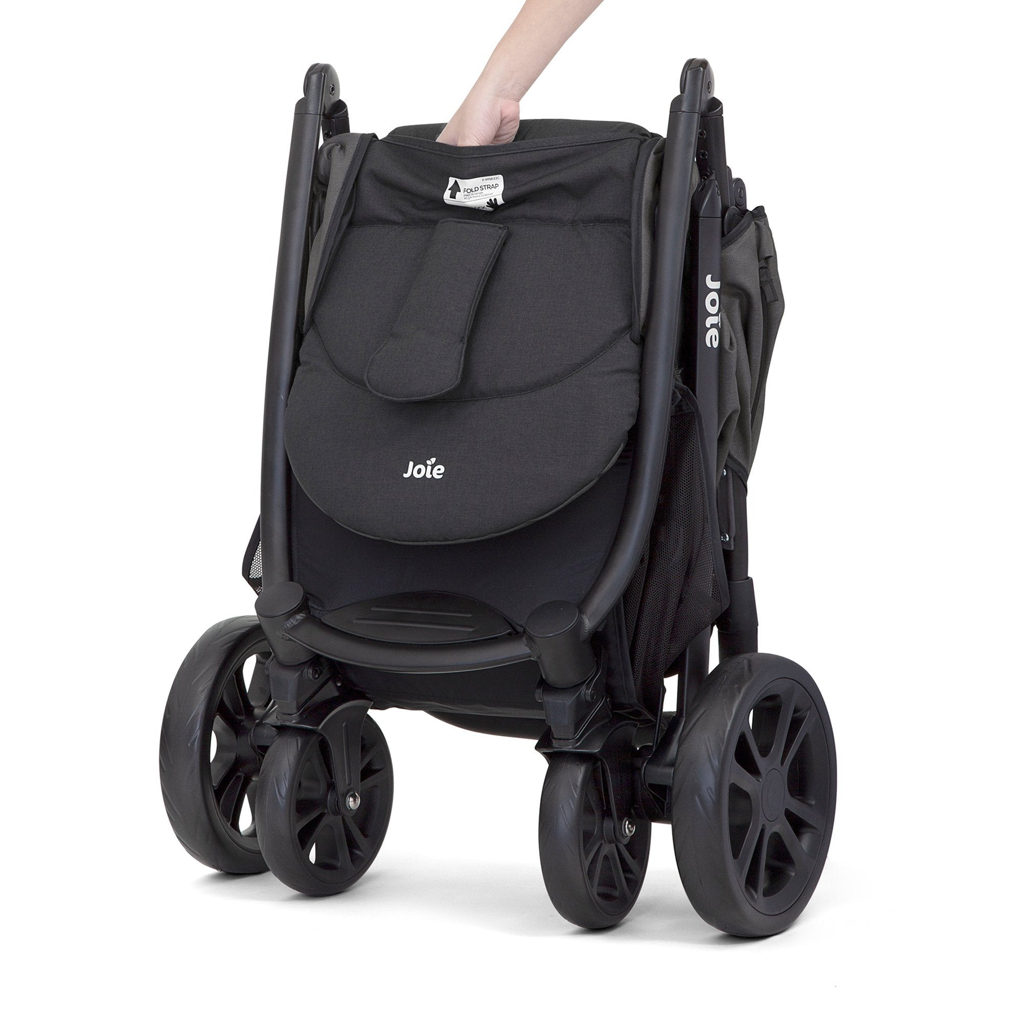 Joie Litetrax 4 stroller - Coal (black) - Pushchair Expert