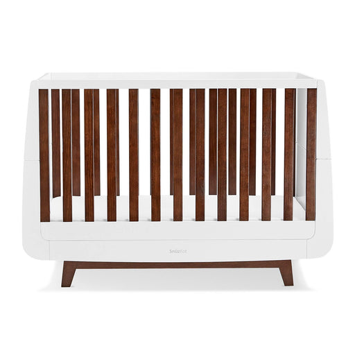 SnuzKot Luxe Cot Bed – Espresso + FREE toddler rails