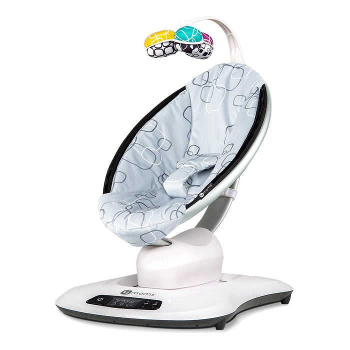 4moms mamaRoo 4 Silver Plush - Pushchair Expert