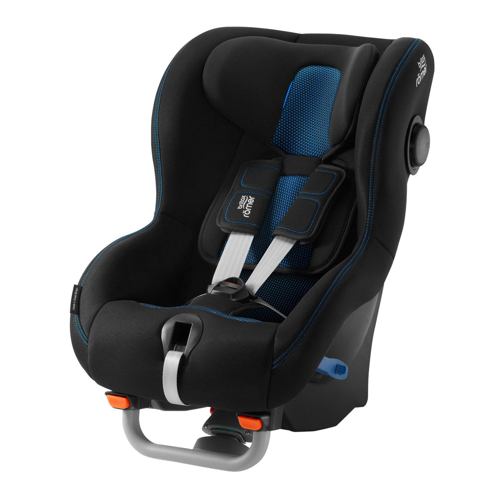 Britax Rӧmer Max-Way Plus Group 1/2 rear-facing car seat - Cool Flow Blue - Pushchair Expert