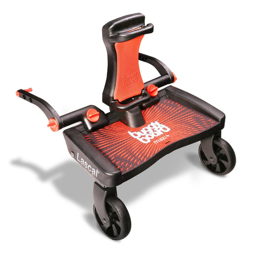Lascal Buggyboard Maxi Plus Red - Pushchair Expert
