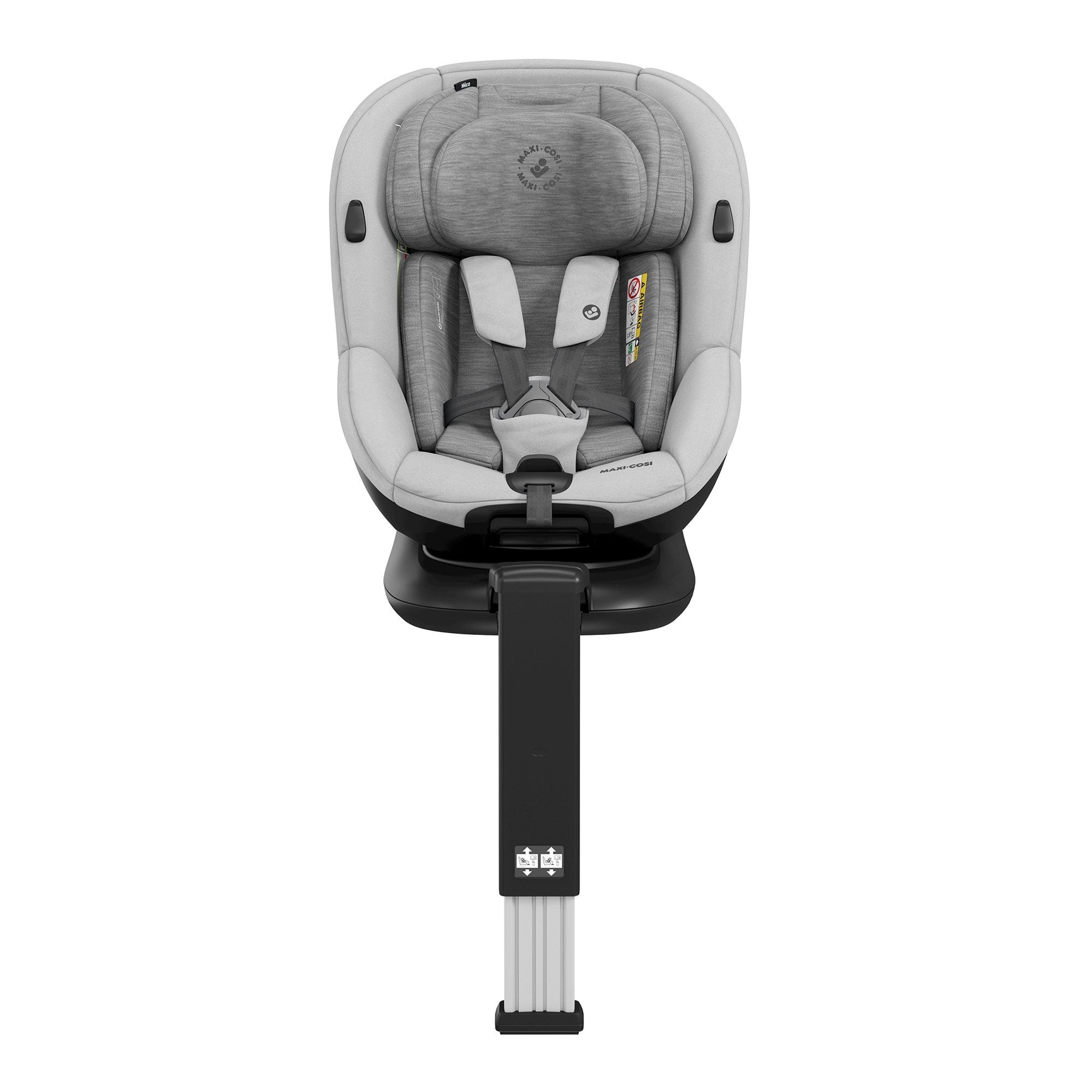 Maxi-Cosi Mica i-Size 0-4 years car seat - Authentic Grey - Pushchair Expert