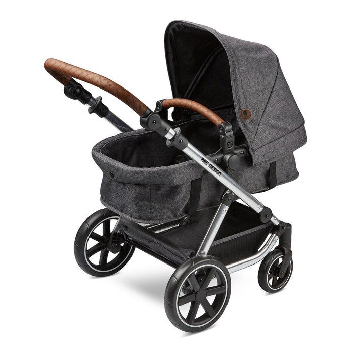ABC Design Migno Dolls Pram - Asphalt