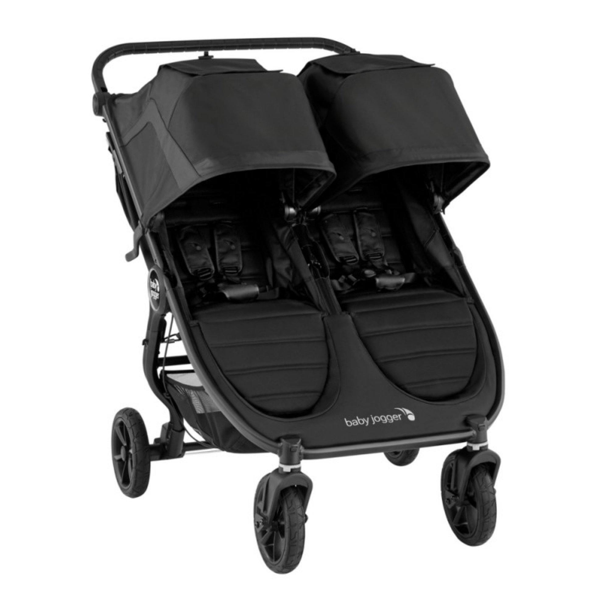 Baby Jogger City Mini GT2 Double - Jet - Pushchair Expert