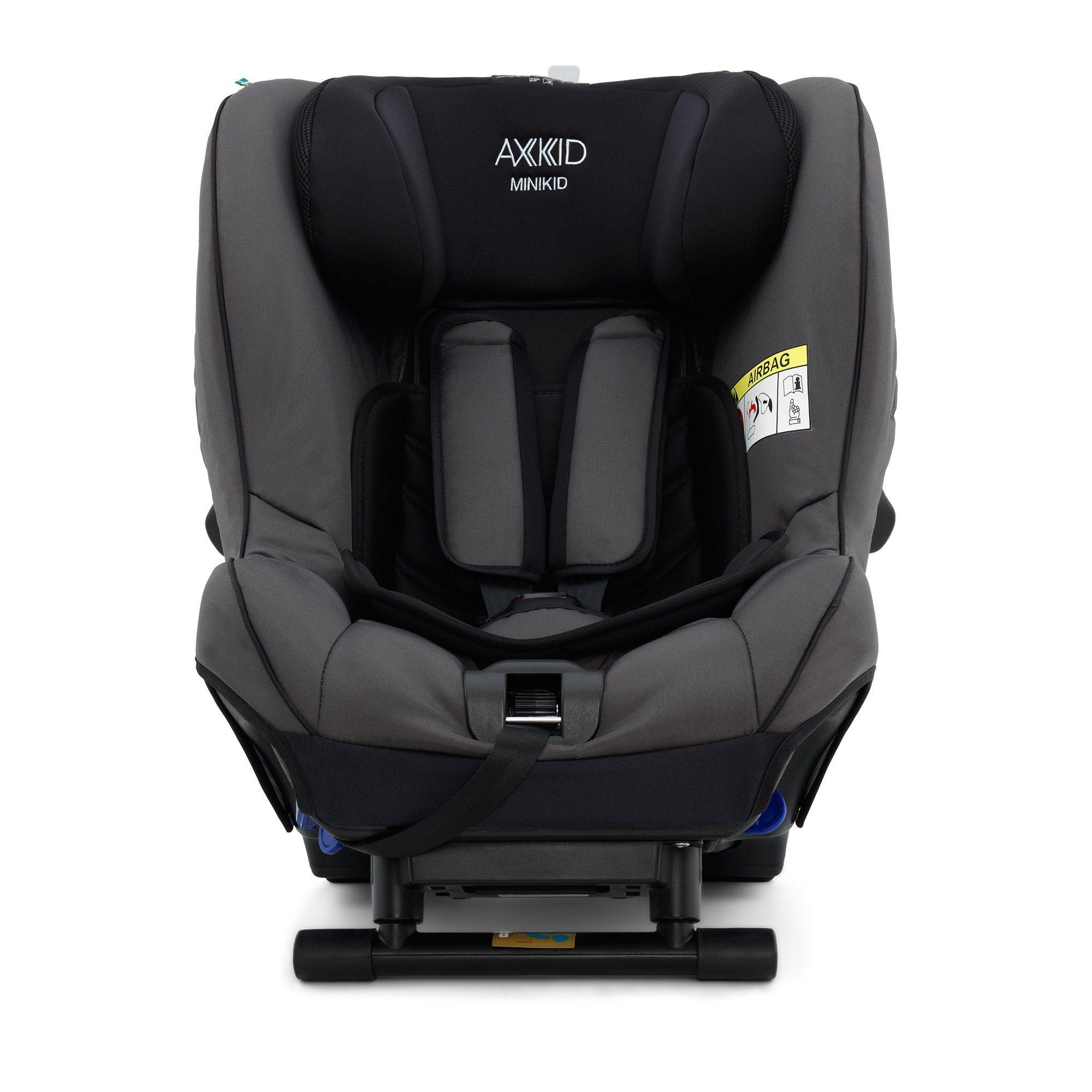 Axkid Minikid 2.0 Extended Rear-facing Car Seat - Granite - Pushchair Expert