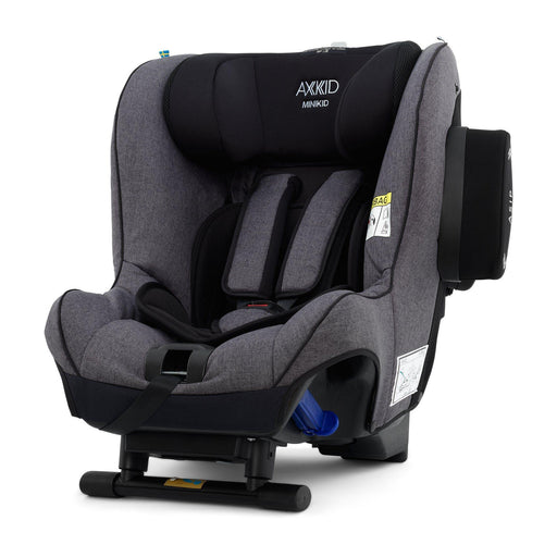 Axkid Minikid 2.0 Extended Rear-facing Car Seat - Granite Melange Premium - Pushchair Expert