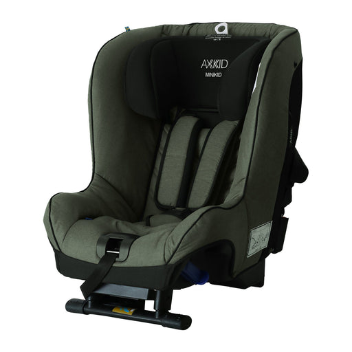 Axkid Minikid 2.0 Extended Rear-facing Car Seat - Green - Pushchair Expert