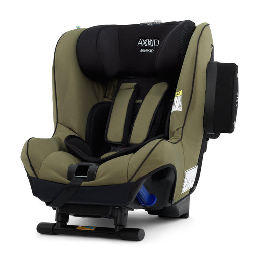 Axkid Minikid 2.0 Extended Rear-facing Car Seat - Moss - Pushchair Expert