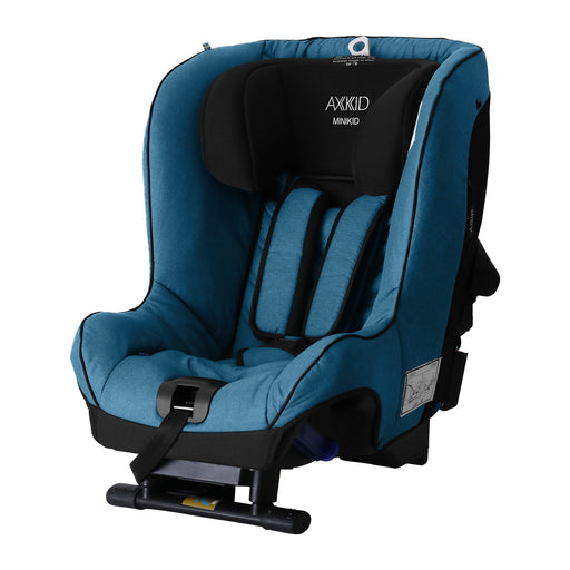Axkid Minikid 2.0 Extended Rear-facing Car Seat - Petrol - Pushchair Expert