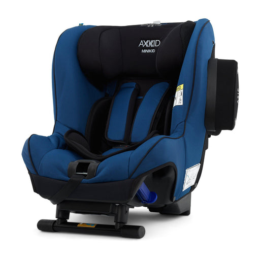 Axkid Minikid 2.0 Extended Rear-facing Car Seat - Sea - Pushchair Expert