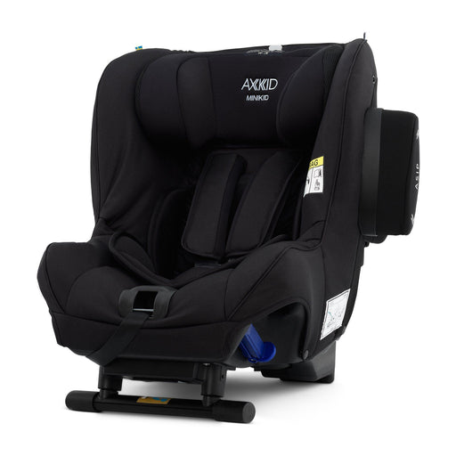 Axkid Minikid 2.0 Extended Rear-facing Car Seat - Shell Black Premium - Pushchair Expert