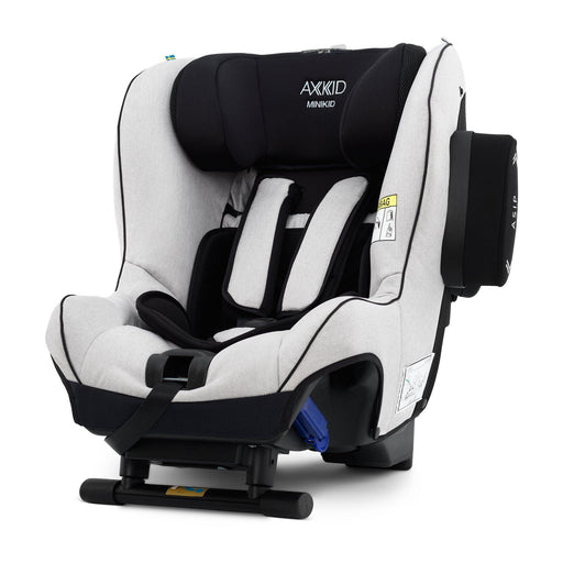 Axkid Minikid 2.0 Extended Rear-facing Car Seat - Sky Grey Premium - Pushchair Expert