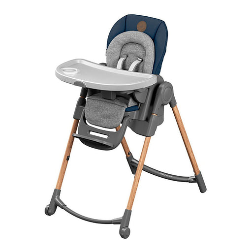 Maxi-Cosi Minla Highchair - Essential Blue - Pushchair Expert