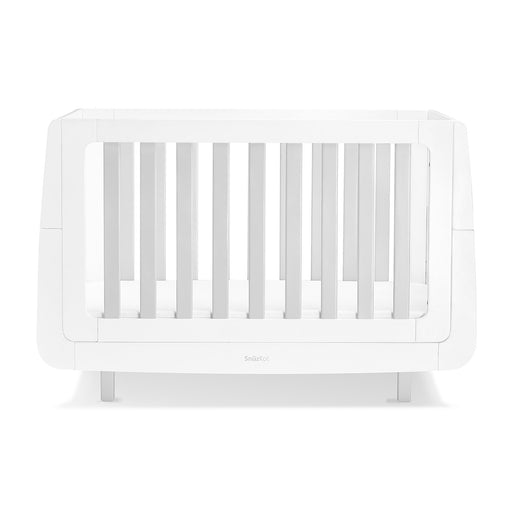 SnuzKot Mode Cot Bed – Grey + FREE toddler rails