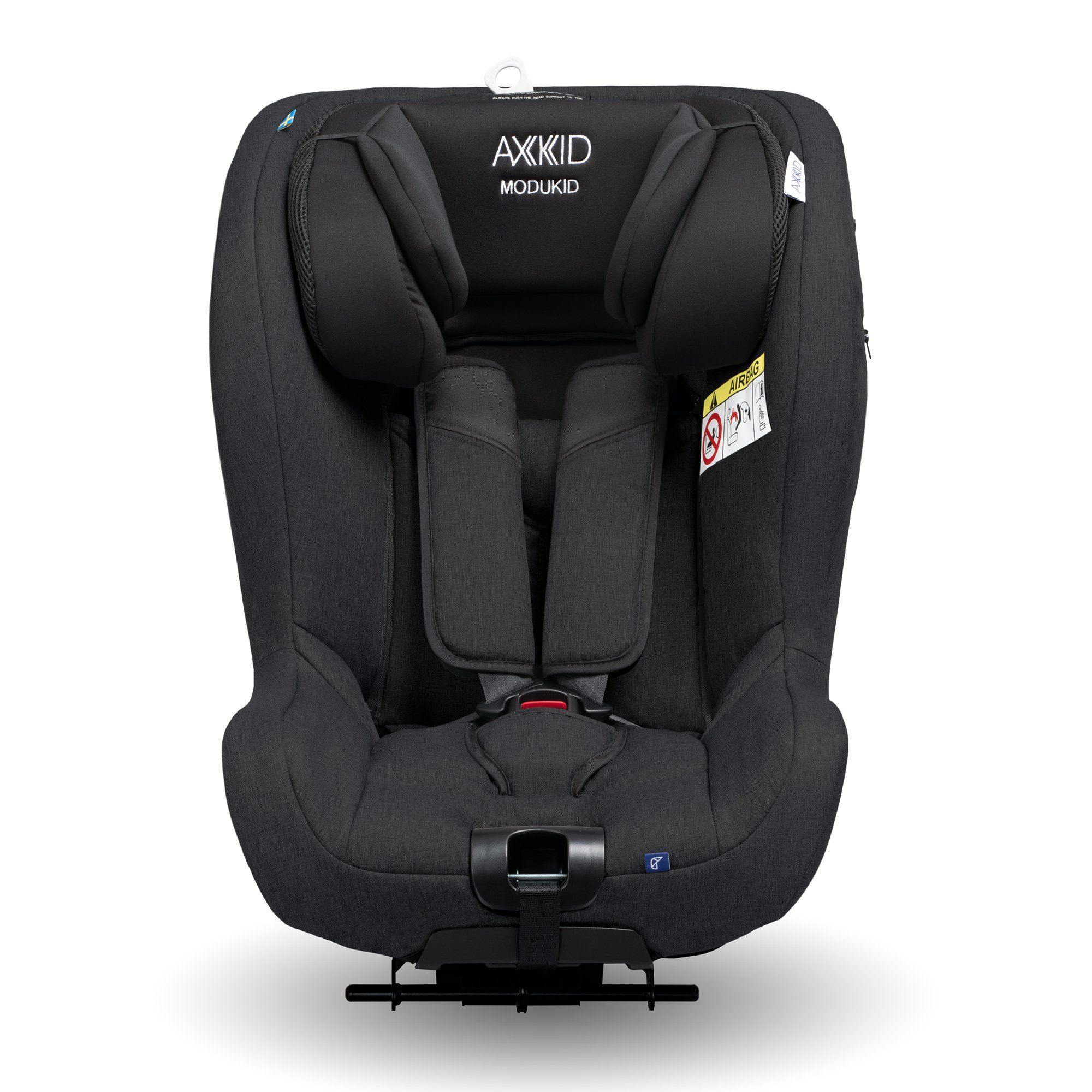 Axkid Modukid i-Size toddler car seat and base - Black - Pushchair Expert